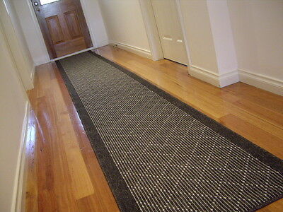 Hallway Runner Hall Runner Rug Modern Grey 7 Metres Long FREE DELIVERY