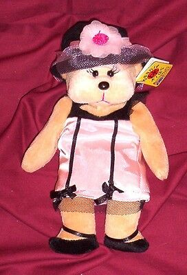 BEANIE KID Shardy the Socialite Bear  BK 484  Mint With Mint Tag