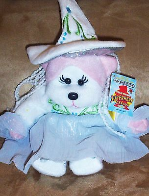 BEANIE KID Esmeralda the White Witch Bear  BK 680  Mint With Mint Tag
