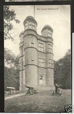 "GBL19025 Postcard, ""The Stand"", Chatsworth, Derbyshire"