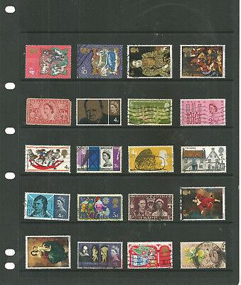 GB 5 stock sheets   commemorative mix collection stamps