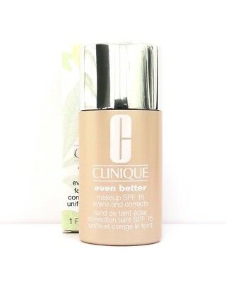 Clinique Even Better Foundation/Makeup SPF 15 - Boxed  - Choose Shade