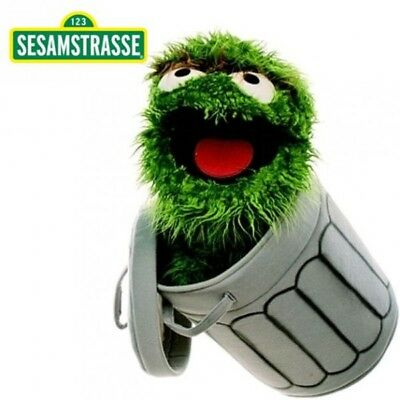 Sesame Street - Plush Soft Toy Hand Puppet Character Oscar the Grouch 65 cm