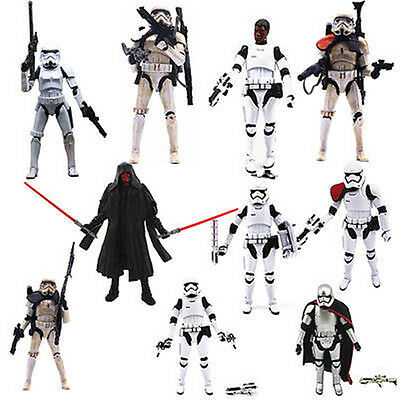 """6"""" Star Wars Action Figurines Revenge of the Sith Clone Trooper Stormtrooper"""