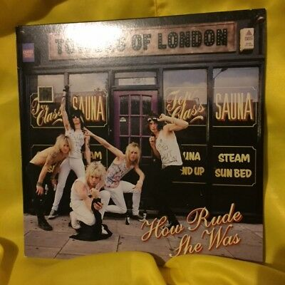 """Towers Of London """"how Rude She Was"""" 2005 Pink Vinyl Gatefold Sleeve 7"""""""