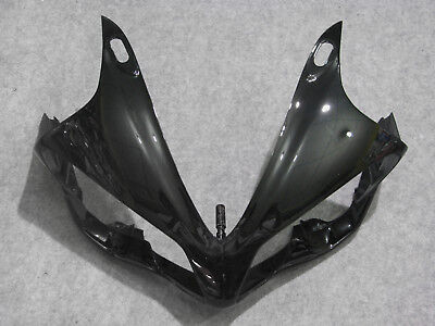 Black New Upper Cowl Front Fairing Nose for Yamaha YZF 1000 R1 YZFR1 2007 2008