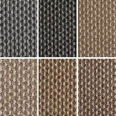 Cheap Berber Loop Carpet Hardwearing Felt Backing Bedroom Lounge Halls Stairs