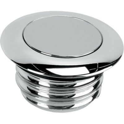 Chrome Pop-Up Non-Vented Fuel Cap For Harley-Davidson 1996-99