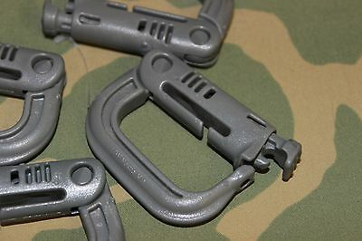 One Tactical Molle  Itw Nexus Grimloc (1) Locking D-Ring Carabiner Grimlock Flc