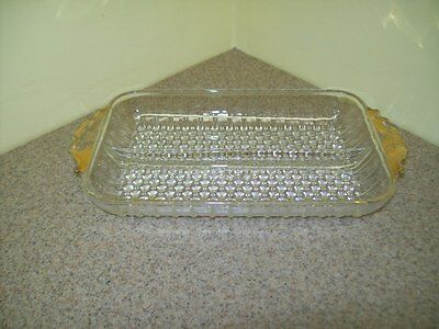 Vintage Glass Sectioned Relish Dish