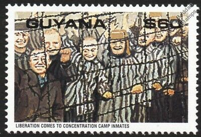 WWII 1945 Liberation of Dachau Concentration Camp Stamp