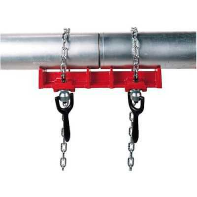 """Ridgid 40220 Red Model 461 Straight Pipe Welding Vise for 1/2"""" to 8"""" Pipe"""