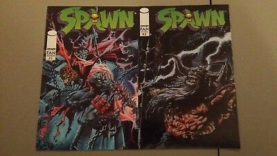 (1996) Image Comics Spawn Fan Edition Lot Of 2 Vf/nm Flat Rate Shipping
