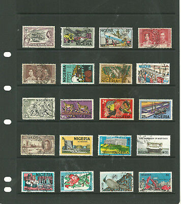 Commonwealth Nigeria    Africa   one stock sheet  collection stamps