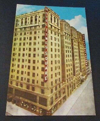 Old Postcard<NEW YORK CITY, NEW YORK>{HOTEL TIMES SQUARE}