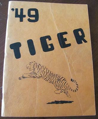 Vintage 1949 TIGER Yearbook Annual Lincoln High School LAKE CITY MN Minnesota