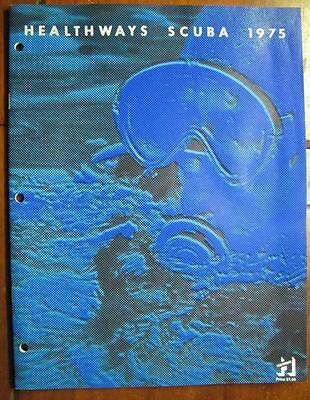 Vintage HEALTHWAYS SCUBA 1975 Products Catalog Diver Skin Diving