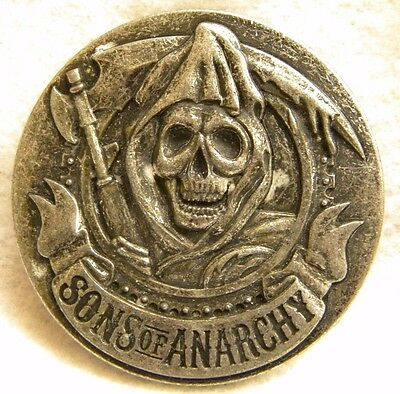 SONS of ANARCHY Symbol All Metal Belt Buckle New