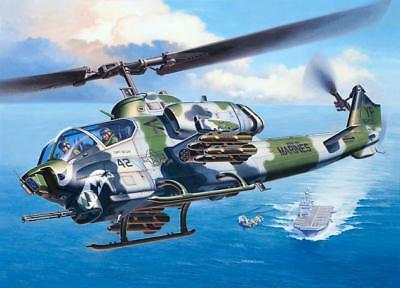 Revell Models 1/48 Bell Attack Helicopter AH-1W Super Cobra