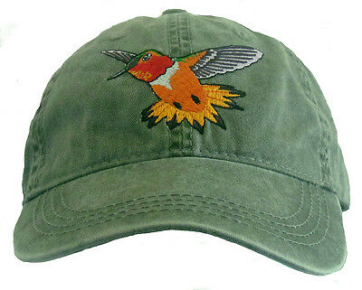 Trumpeter Swan  Embroidered Cotton Cap NEW Hat Bird Ornithology