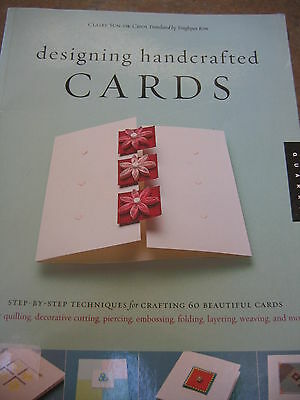 DESIGNING HANDCRAFTED CARDS Step by Step Techniques 60 cards BOOK