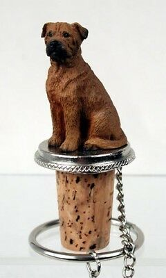 Bullmastiff Dog Hand Painted Resin Figurine Wine Bottle Stopper