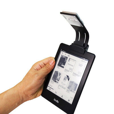 for Amazon Kindle Flexional LED Reading Light Chargeable Clip Lamp with Magnet