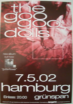 The Goo Goo Dolls Concert Tour Poster 2002 Gutterflower