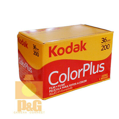 New Boxed Kodak Colorplus 200 35mm 36exp Film 1Rolls  / Date 12-2021