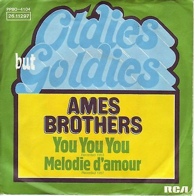 """""""7"""" - AMES BROTHERS - You You You"""