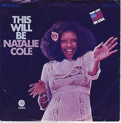 """""""7"""" - NATALIE COLE - This will be"""