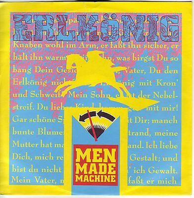 """7"" - MEN MADE MACHINE - Erlkönig"
