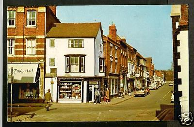 HXL Early Postcard, Teme Street, Tenbury Wells, Worcestershire