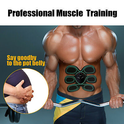 Abdonminal Toning Belt Abs Muscle Stimulator ABS Toner Body Exercisers New