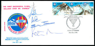 Nepal Everest Expedition Signed Cover