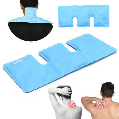Reusable Hot Cold Gel Pack Therapy Ice Bag Shoulder Neck Arthritis Pain Relief