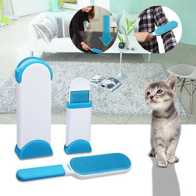 Hurricane Pet Fur & Lint Remover Travel Size Hair Cloth Wizard Cleaning Brusher