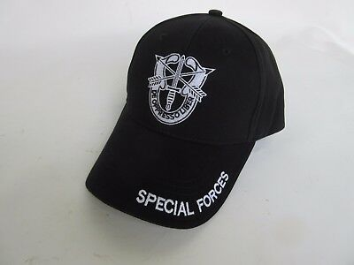 "US Army ""US Special Forces"" Baseball Cap Airforce Insignia Seals Navy WK2 WWII"