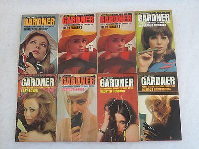 Earl Stanley Gardner Eight Mass Market Paperbacks