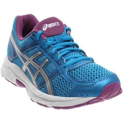 ASICS Gel-Contend 4 Blue;Pink;Silver - Womens  - Size