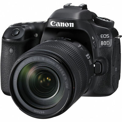 Canon EOS 80D 24.2 MP DSLR Camera With 18-135mm Lens Kit US