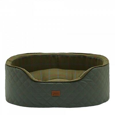 Joules Joules Slumber Check Pet Bed (X)