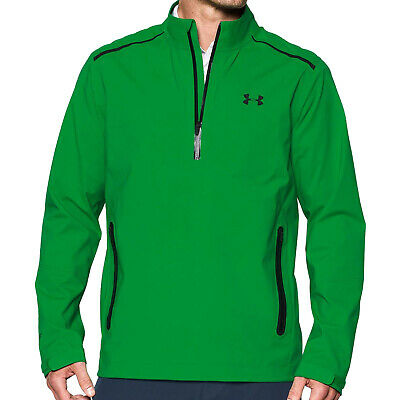 Under Armour Mens Storm Gore-Tex Paclite Half Zip Golf Jacket New UA Pullover