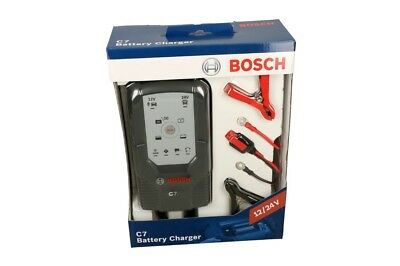 Bosch C7 Electronic Charger 12V/24V Charger Moped Scooter 14-230Ah