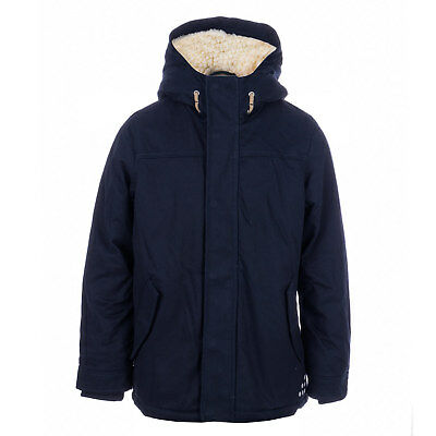 Boys London Fog Paddington Jacket In Navy- Zip Fastening- Popper Button Storm
