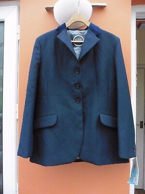 Saddle Craft Ladies Equestrian Show Jacket Size 40 Approx 14 Bnwt