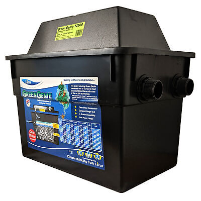 Lotus Oasis Green Genie 12500 Uv Filter 18W Water Clarifier Fish Koi Pond Garden