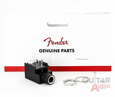 """Genuine Fender Amplifier Parts - Stereo 9-Pin Box 1/4"""" Replacement Input Jack"""