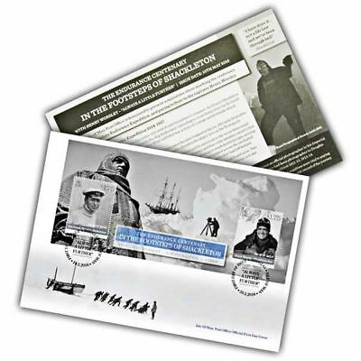 In the Footsteps of Shackleton First Day Cover