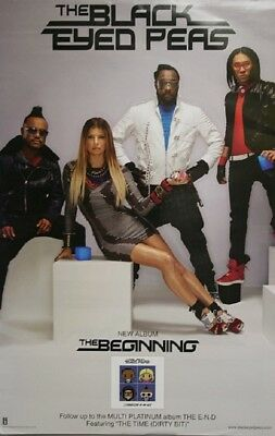 BLACK EYED PEAS The Beginning 22X14 2 SIDE POSTER